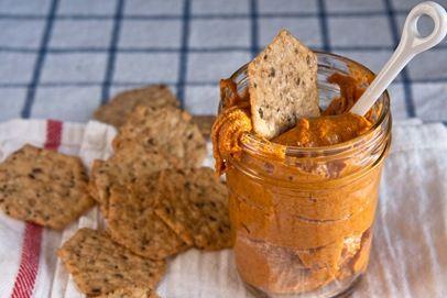 smoked paprika almond butter | Fine Dining | Pinterest