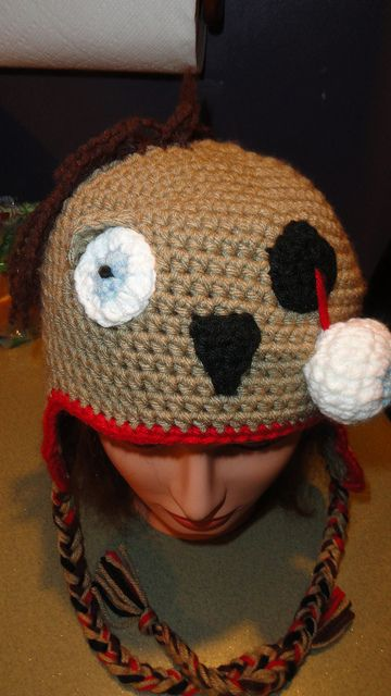 zombie hat by The Crochet Crowd?, via Flickr