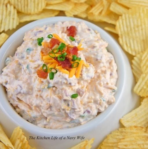 Loaded Baked Potato Dip | Food | Pinterest