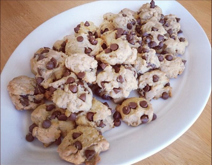 vegan chocolate chip cookies---had to add more milk but the cookies ...