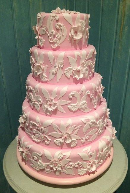 Beautiful Pink Cake Images : Big Pink Cake!!! Beautiful Desserts Pinterest