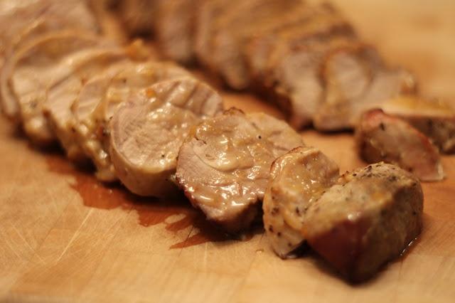 Honey Dijon Glazed Pork Tenderloin | Pork | Pinterest