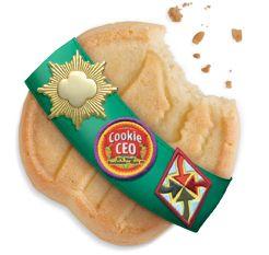 Cookie badge