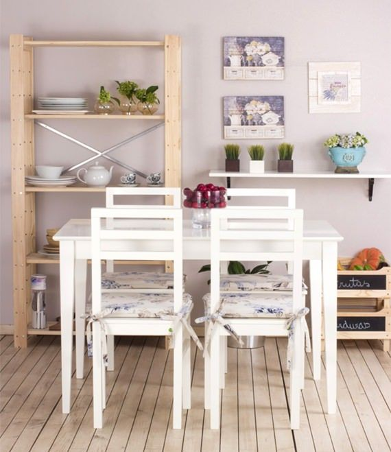 Mesa Quadrada Sala Pequena ~ Another Image For sala de jantar pequena mesa redonda ou quadrada