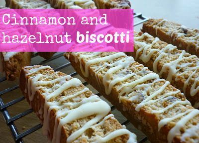 My sugar coated life...: Cinnamon and hazelnut biscotti recipe