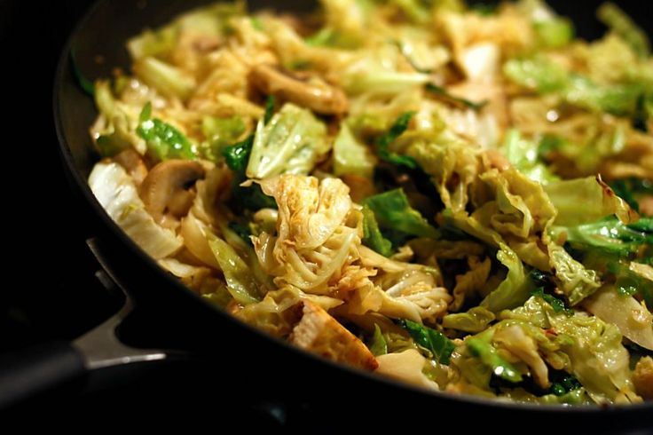 Henry Dimbleby's Spicy Cabbage Recipe — Dishmaps