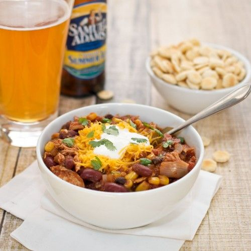 Crock Pot Chicken Taco Chili {Sweet Pea's Kitchen} -- http ...