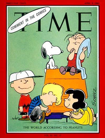 Peanuts   April 9, 1965