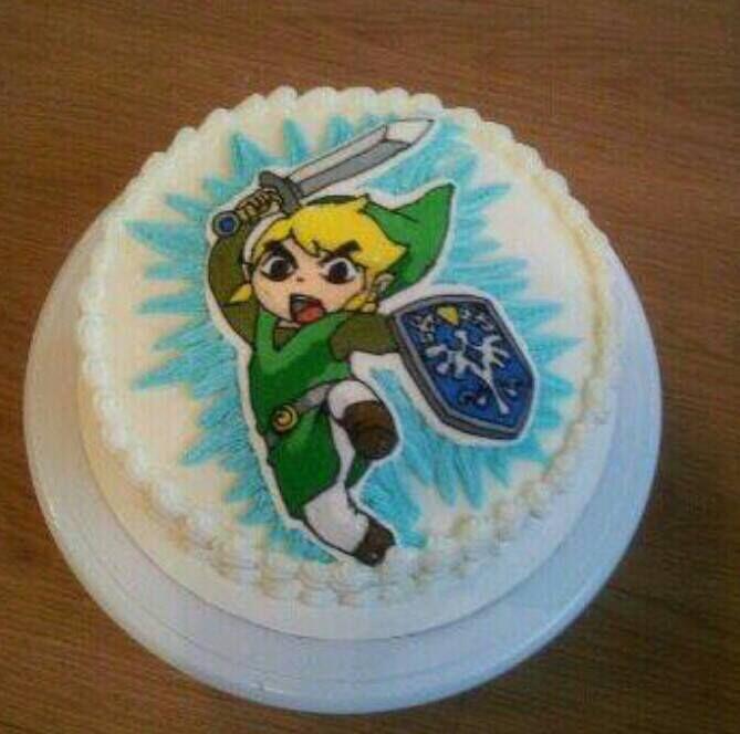 legend of zelda birthday cakes