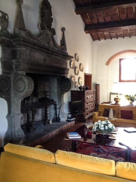 Italian Fireplace Tuscan Style Pinterest