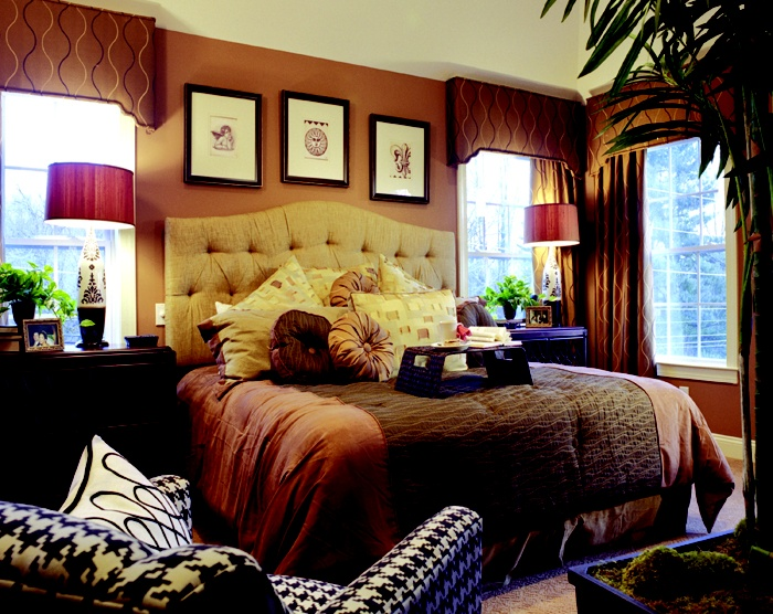 Warm And Cozy Brown Bedroom My Dream Victorian Pinterest