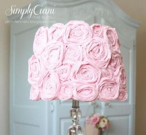 DIY Shabby Chic Lampshade | TheWHOot