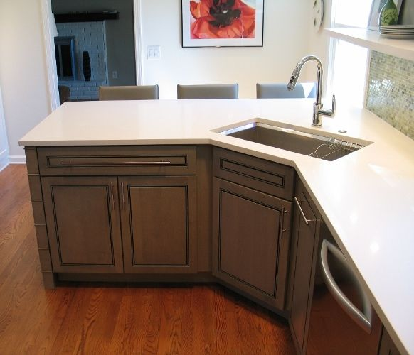 Corner Undermount Kitchen Sink : kitchen sinks