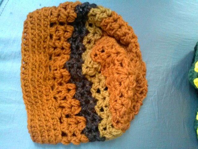 Crochet V Stitch Hat : Crochet V-stitch beanie Crochet! Pinterest