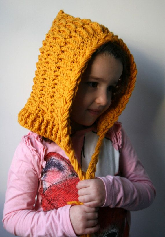 Crochet Pattern, pixie hat pattern, hoodie crochet pattern ...