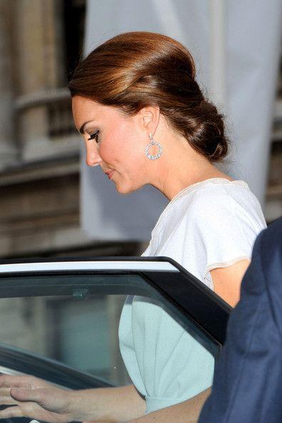Kate Middleton Chignon