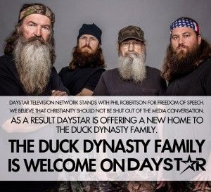"New Home to Duck Dynasty Family - Daystar Television - ""My wife"