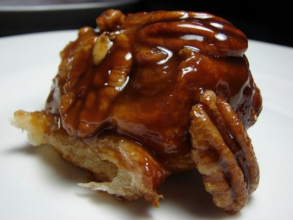 Sticky Buns. Made with light brown sugar, butter, honey, pecans, sugar ...