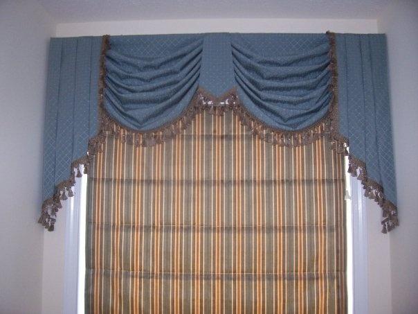 Custom Window Treatments Decorating Ideas Pinterest