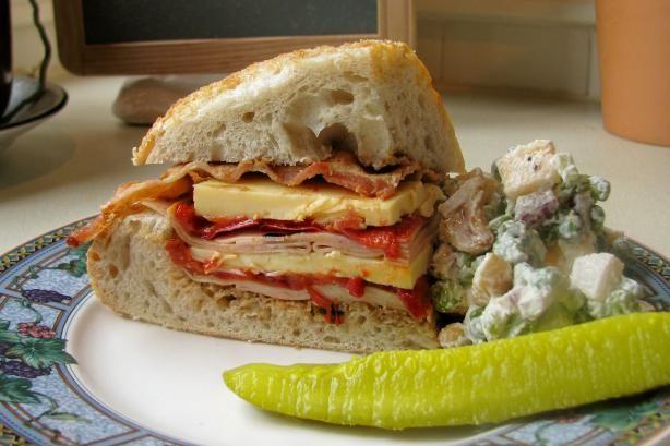 Turkey, Bacon and Havarti Sandwich | Recipe