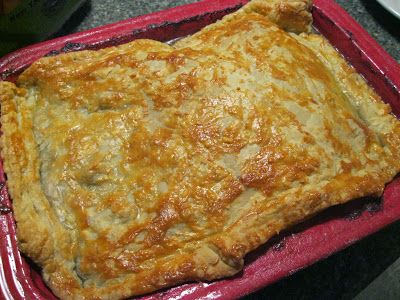 Great Beef and Red Wine Pot Pie for Fall !