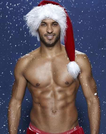 Tis the season for freaking hot guys in santa hats