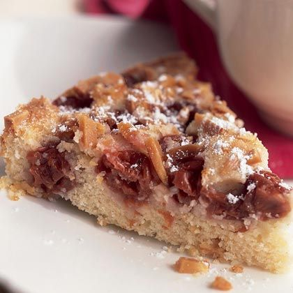 Easy Kitchen for Busy Women: Cherry-Almond Cake