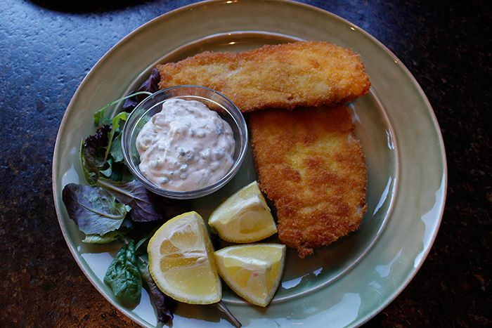 Crispy Chicken Cutlets with Lemon Caper Sauce #MadeinUSA # ...
