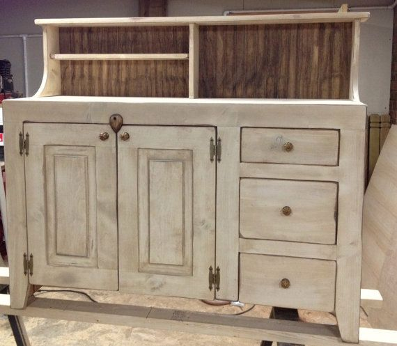 sideboard buffet country shabby chic distressed. Black Bedroom Furniture Sets. Home Design Ideas
