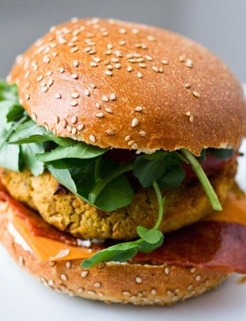 Agnese Italian Recipes: White Bean Veggie Burgers : Recipe for Kids