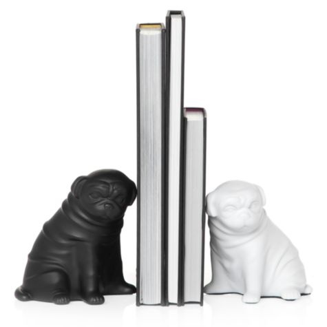 Z Gallerie - Pug Bookends Z Gallerie Pug