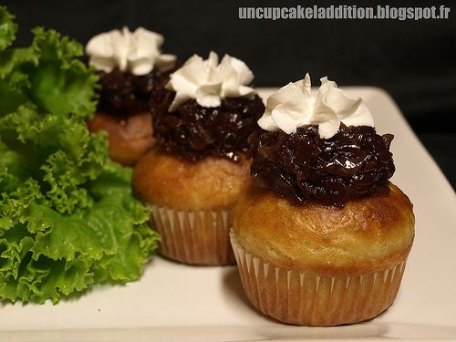 Savory Cupcakes - Fig, Goat Cheese, And Onion Recipes — Dishmaps