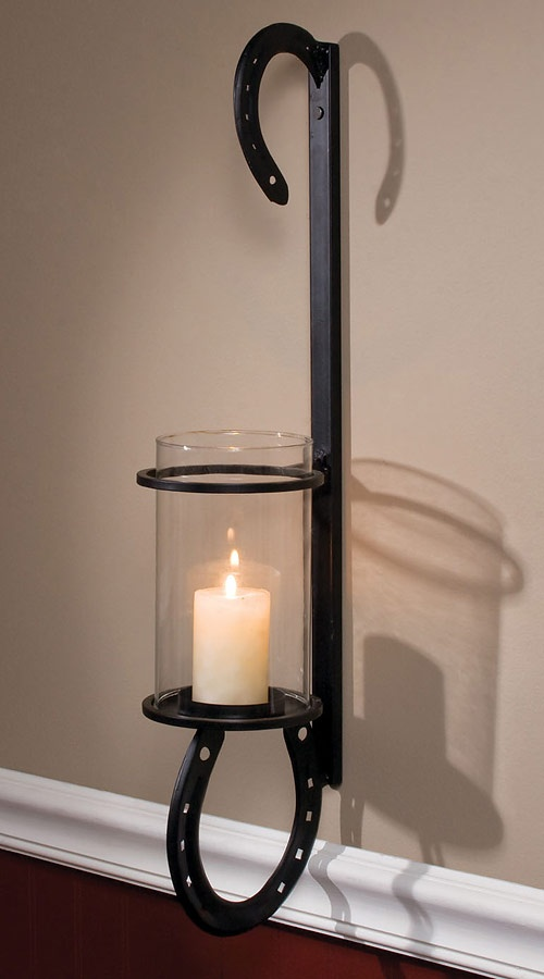 Iron Candle Wall Sconces