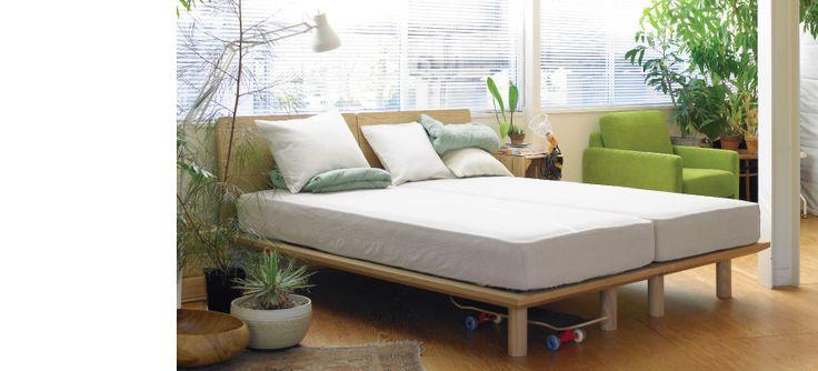 シングル 無印 ベッド シングル : Muji Bed Platform