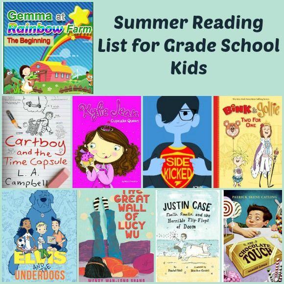 summer reading list for kids 30 great books for school kids
