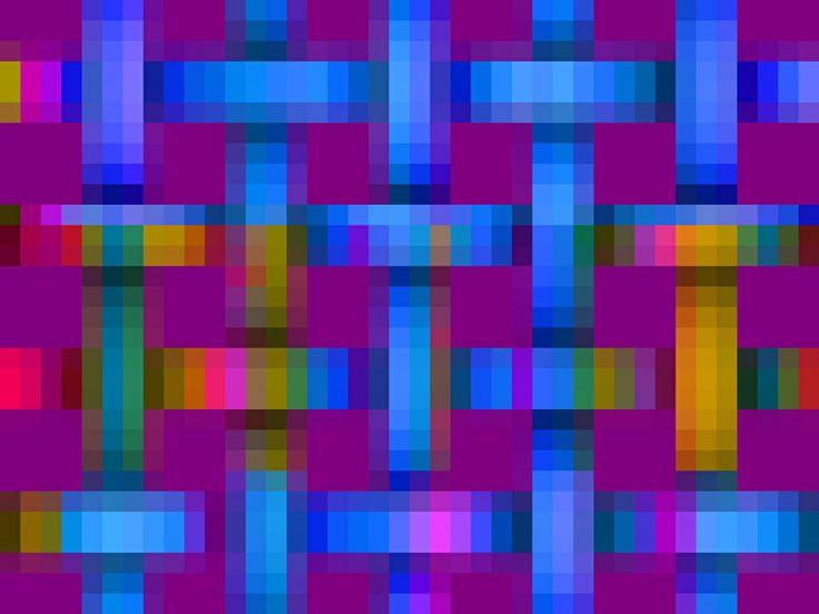 pixels - weave | Vonnie's Computer Art: Pixels | Pinterest