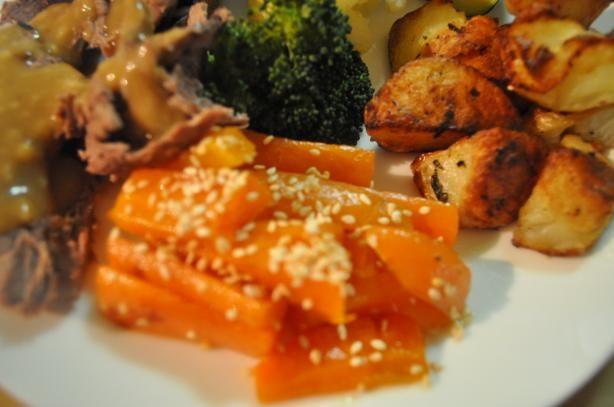 Sesame Carrots. Photo by I'mPat