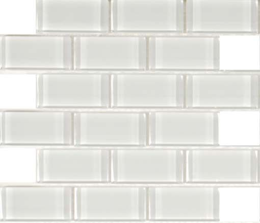 mineral tiles subway glass tile simplicity white 2x4 http