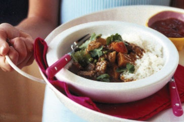 Make your curry in a hurry with this quick lamb curry recipe.
