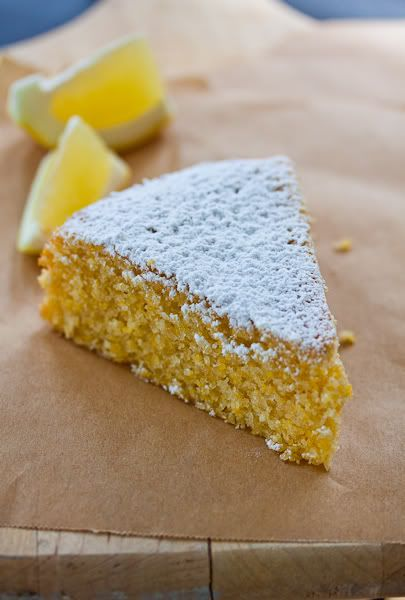 lemon polenta cake? originality and deliciousness at their finest
