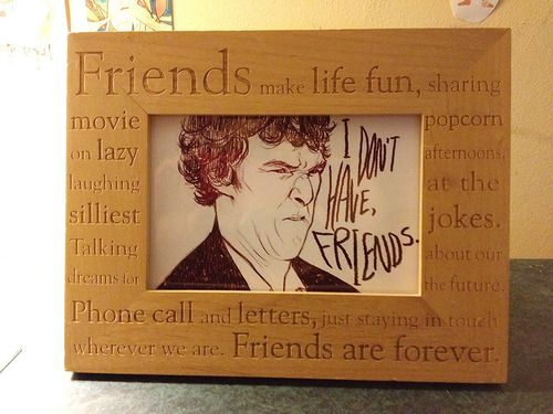 Sherlock doesn't have friends