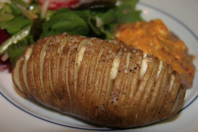 Grilled Hasselback Sweet Potatoes With Rosemary And Garlic Recipe ...