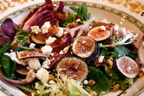 Fig, Prosciutto, & Goat Cheese Salad; looks like another yummy salad ...