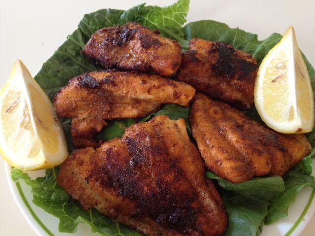Blackened Catfish | Clean Eats | Pinterest