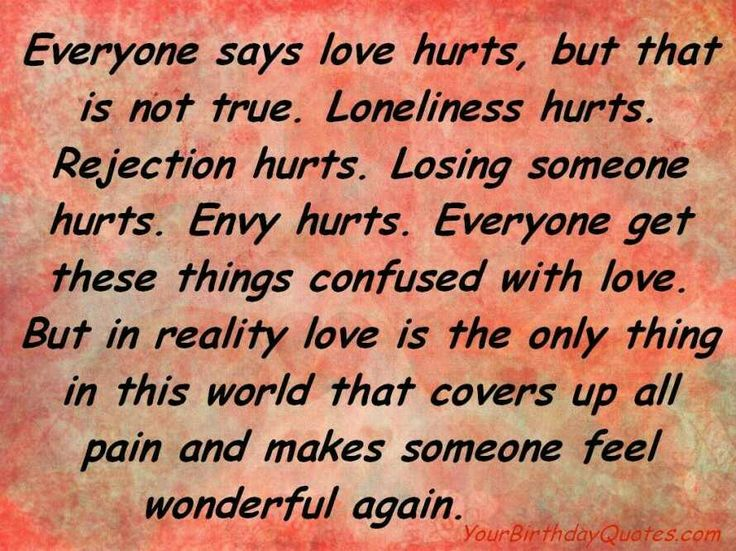 everyone says love hurts emotional quotes pinterest