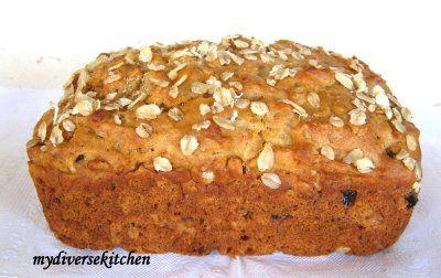 Honey Oatmeal Raisin Quick Bread   Bread   Pinterest