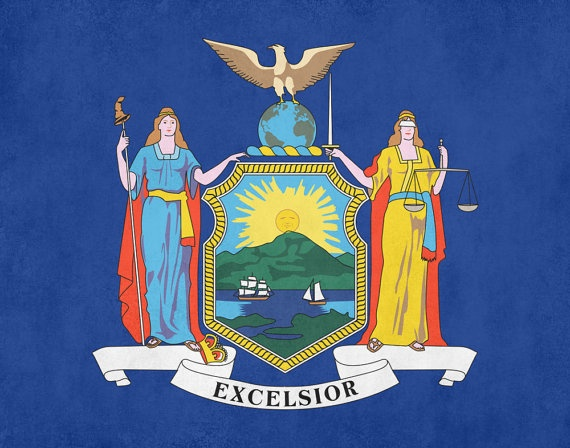 new york state flag history