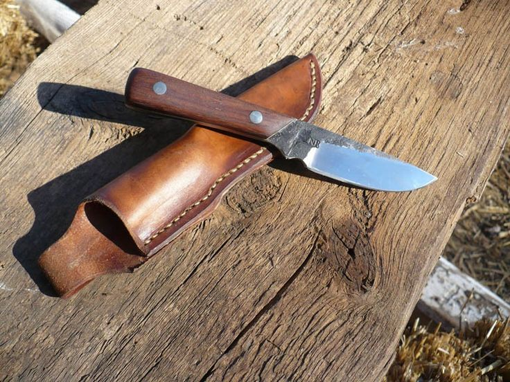 how to make a homemade knife sheath