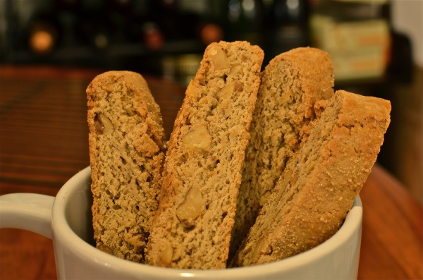 Maple Walnut Biscotti - a perfect holiday cookie!