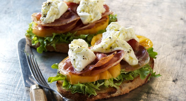 New-Fangled BLT, grilled | Sandwiches, Pizza and Burgers | Pinterest